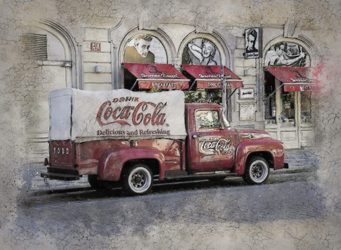 Coca Cola vehicle